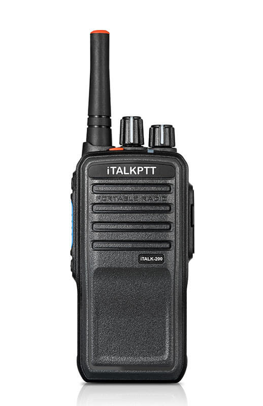 iTALK 200 PTT Portable Two Way Radios